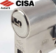 Cisa Astra S anti bump and snap resistant euro cylinder locks