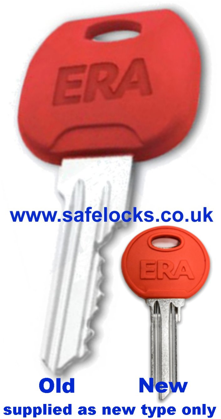 Era Fortress 3 star cylinder key cut to code 652-56 British Standard cylinder key