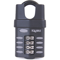 Squire CP50CS combination padlock closed shackle